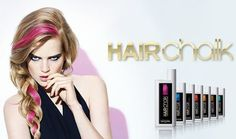 L'Oreal Professionnel HAIRchalk Collection - #hairchalk #loreal #haircolor #colorful #chalk #becomegorgeous - bellashoot.com