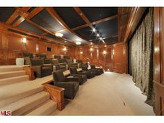 Who needs to go to the movies when you have your own enormous theater of your own?