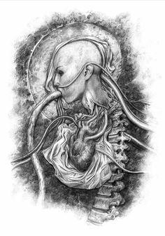 """Alien: Covenant   Confira algumas das ilustrações """"feitas"""" por David - Jovem Nerd"""