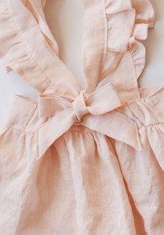 Handmade Linen Pinafore Dress | Gypsyandfree on Etsy