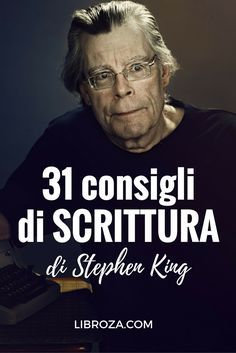 31 consigli di scrittura di Stephen King - Libroza.com Writing Words, Writing A Book, Writing Tips, Writing Prompts, Virtual Assistant Jobs, Stephen King, Writing Characters, Writing Workshop, Blogger Tips