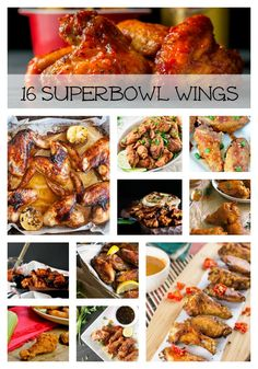 Looking for some chicken wings to take to your Superbowl party and don't which ones to make? Here are 16 chicken wing recipes that will get you started!  Grab one of these delicious chicken wing recipes and wow everyone at your next party! Brazilian Style Chicken Wings by Olivia's Cuisine Crispy Green Herb...Read More »