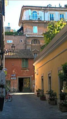 Foto di Stefano Durastante. Sul fondo,la meraviglia di Via Margutta.