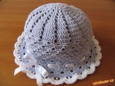 DIY Crochet Pretty Panama Hat for Girls - Her Crochet - ageof Newborn Crochet Patterns, Crochet Beanie Pattern, Baby Blanket Crochet, Crochet Mouse, Crochet Art, Loom Knitting, Baby Knitting, Sombrero A Crochet, Crochet Summer Hats