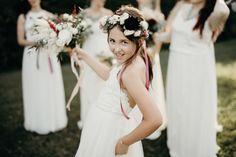 Cute and fun flower girl #cedarwoodweddings #06.17.17 :: Kaitlyn + Aaron | Cedarwood Weddings
