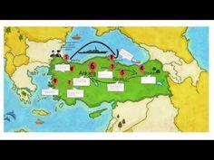 4.Sınıf Türkiye Haritası Üzerinde Milli Mücadele Dönemi - YouTube