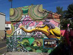 Incredible Street Art Illustrations by Phlegm
