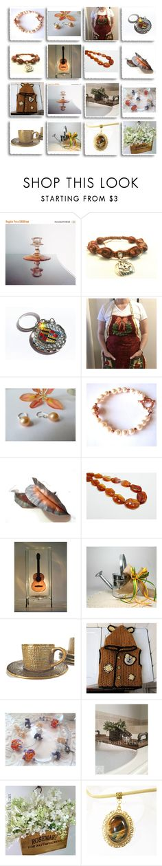 """""""Beautiful Handmade Gifts"""" by therusticpelican ❤ liked on Polyvore featuring Shamballa Jewels, modern, contemporary, rustic and vintage"""