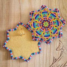 Native Beading Patterns, Beadwork Designs, Bead Embroidery Patterns, Bead Loom Patterns, Beaded Embroidery, Indian Beadwork, Native Beadwork, Native American Beadwork, Beaded Earrings Native
