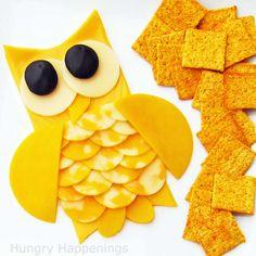 Owl Cheese Platter