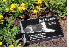 New Ideas for Pet Grave Stones . Custom made memorial stones & cremation… Miss My Dog, Pet Memorial Stones, Pet Cemetery, Pet Urns, Pet Memorials, Your Pet, Memories, Pets, Cremation Urns