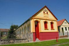 Schwäbisches, ehemaliges Bauernhaus in Feked #Feked #schwäbisch