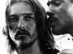 "Ted Neeley and Carl Anderson in ""Jesus Christ Superstar"", 1973"