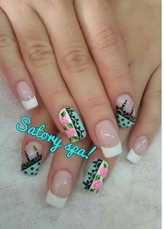 Lace Nails, Floral Nail Art, Nail Arts, Nail Designs, Erika, Nail Ideas, Beauty, Personality, Roses
