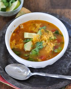 18. Mom's Simple Chicken Tortilla Soup #beginner #dinner #recipes…