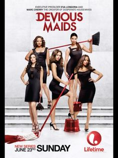 Devious maids~ The new Desperate Housewives!~!!!   I LOVE IT~~~~~