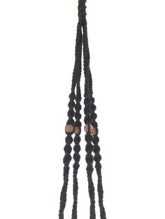 Suspension macramé plante bymadjo.com Modèle Cobanos black Suspension plante Suspension macramé