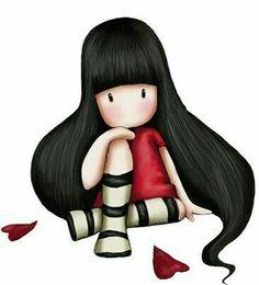 #nena #niña #flequillo #sentada