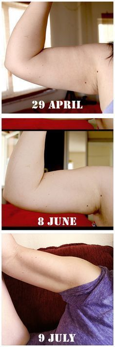 Arm workout for slimmer arms in 6 weeks! For all those pictures where I really hate my arms! Way too many....