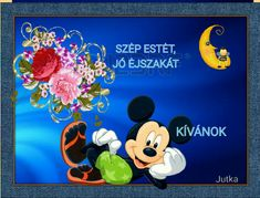 Good Night, Minnie Mouse, Disney Characters, Have A Good Night, Mini Mouse