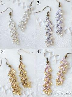 Image 1: 4 floret Bonjukkuoya earrings
