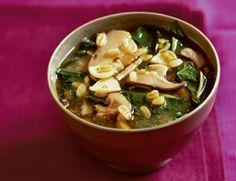 Garlic & Kale Soup
