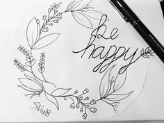 Blumenkranz/ be happy/ tattoo idea