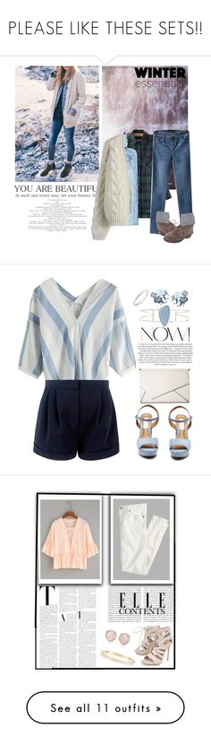 """""""PLEASE LIKE THESE SETS!!"""" by enjolras1832 ❤ liked on Polyvore featuring Chicwish, WithChic, Bandolino, Barbour, Kendall + Kylie, Melissa Joy Manning, Steve Madden, Lydell NYC, De Beers and Monica Vinader"""