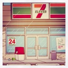 7 Eleven Cartoon Slurpee, Slushies, Seven Eleven, The Simpsons, The Duff, Cartoon, Engineer Cartoon, Cartoons, Ice Pops