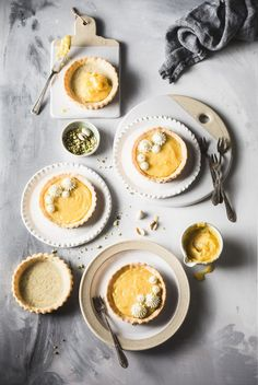 pastries stock images from Offset. Authentic photography and illustrations by award-winning artists. Lemon Curd Tartlets, Mini Tartlets, Tart Recipes, Baking Recipes, Dessert Recipes, Desserts, Nutella, Berry Tart, Quick Vegetarian Meals