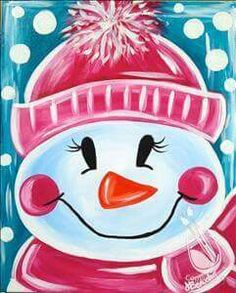 Most current Totally Free Snowman painting with a twist Concepts It really is difficult to avoid adding a new snowman painting undertaking straight into an art curri Painting For Kids, Art For Kids, Kunst Party, Christmas Paintings On Canvas, Wine And Canvas, Pintura Country, Winter Art, Art Party, Christmas Art