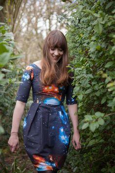 DIY Galaxy Dress | Kollabora