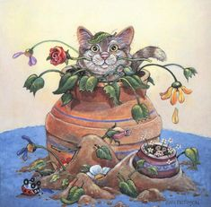 ...potted cats & friends | Gary Patterson