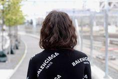 Balenciaga sweater in 100% wool from balenciaga.com My Outfit, Balenciaga, Wool, Sweaters, Outfits, Fashion, Outfit, Moda, Suits