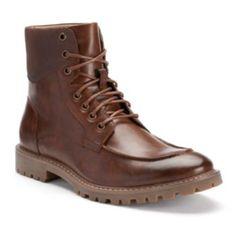 SONOMA life + style Men's Moc-Toe Boots