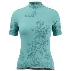Women's Flower Power Short Sleeve Cycling Jersey – Online Cycling Gear
