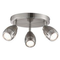 6073SS SPOTLIGHT - stropný spot - kov - ø 370mm - LED/GU10