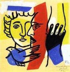 Design for a Scarf - Fernand Léger - The Athenaeum