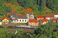 Alsace & Lorraine - Fine Alsace Wines, Rolling Hills and Storybook Villages. Read more → http://www.gobarging.com/cruises-in-alsace-lorraine…