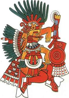 """XIPE-TOTEC (""""the flayed one"""") 