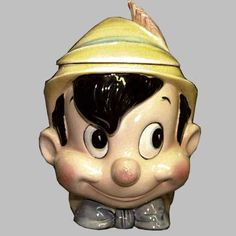 Pinocchio Cookie Jar made in Japan by Enesco