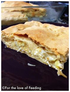 Cheese Pie with Homemade Filo Pastry
