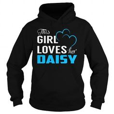 THIS GIRL LOVES HER DAISY - LAST NAME, SURNAME T-SHIRT T-SHIRTS, HOODIES, SWEATSHIRT (39.99$ ==► Shopping Now)