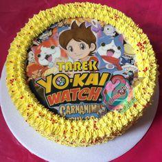 Torta Yokai Watch Realiza tu pedido por; WhatsApp: 3058556189, fijo 8374484  correo info@amaleju.com.co Síguenos en Twitter: @amaleju / Instagram: AmaLeju Cupcakes, Birthday Cake, Party, Desserts, Watch, Twitter, Food, Image, Instagram