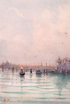 Joseph Zbukvic, Venice (detail)