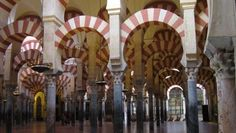 Mosque-Cathedral of Córdoba (Andalusia cathedral cordoba andalusia spain lady assumption catholic christian virgin mary church islamic moorish architecture Cordoba Spain, Out Of The Dark, To Infinity And Beyond, Dark Ages, African History, Most Visited, Moorish, Beautiful Buildings, Beautiful Places