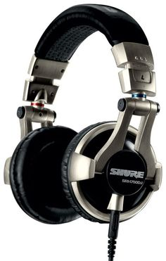 Shure Over Head Headphones DJ Monitor Earphones Studio Headset. High impedance and maximized power handling optimize the headphones for use on high-output DJ mixers. Studio Headphones, Best Headphones, Sports Headphones, Over Ear Headphones, Wifi, Professional Dj, Headset, Things To Sell, Karaoke