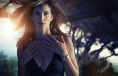 Cindy Crawford In The Omega Ad Campaign #CindyCrawford #Omega