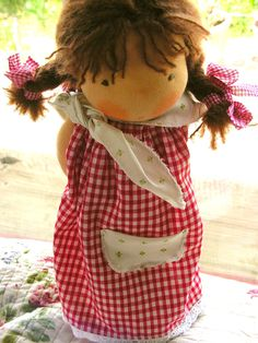 organic waldorf doll from the meadows by eszterlanc8 on Etsy