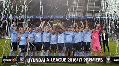 Congratulations to Sydney FC who lifted the Premiers Plate last night, which deservedly goes their way after a record-breaking season of 17 points clear on 66 points and 20 wins, 1 loss, 12 goals against, 16 clean sheets and a goal difference of 43. But just as you acknowledge their terrific achievement, they go and spoil it all by laying claim to the 'greatest of all time'. 16.04.17